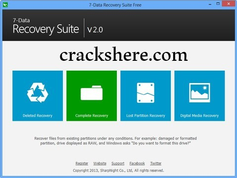 7-Data Recovery Suite 4.4 Serial Key