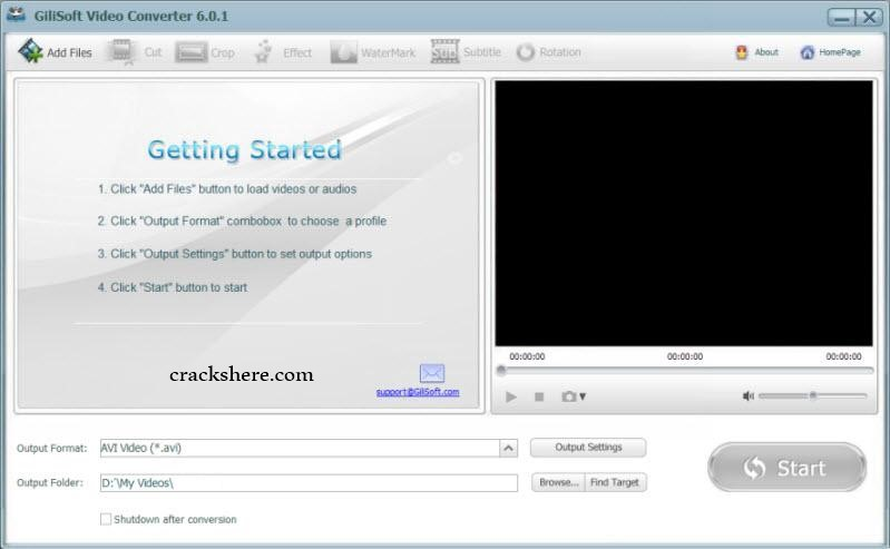 GiliSoft Video Converter Key
