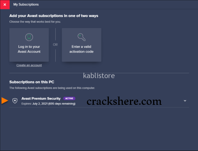 Avast Premium Security 20.3.2405 Crack