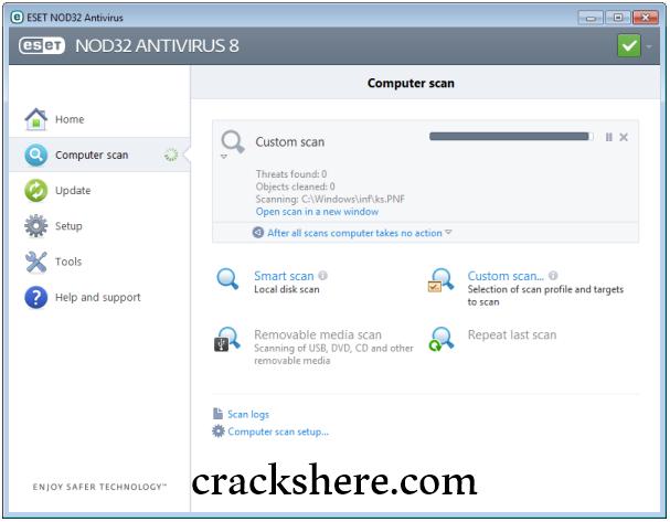 ESET NOD32 Antivirus 14.0.22.0 Crack Full License Key 2021