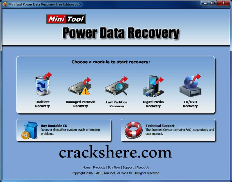 MiniTool Power Data Recovery torrent